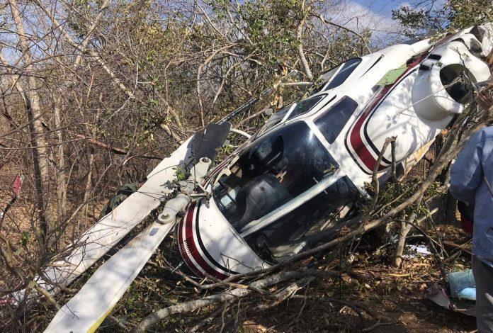 Cinco militares lesionados al estrellarse helicóptero en estación eléctrica de Guárico
