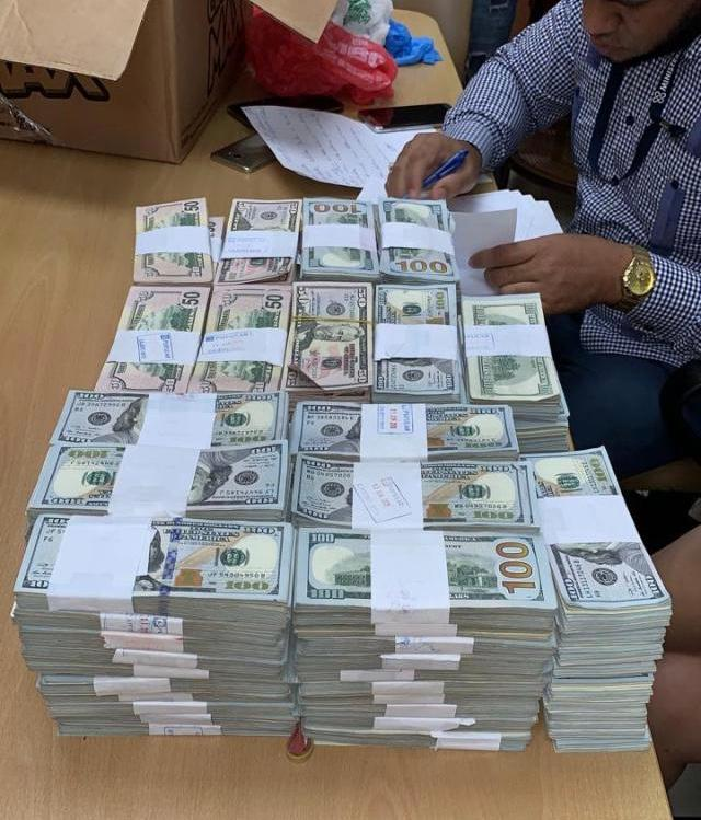Un oficial entre tres venezolanos detenidos en Dominicana con $1,3 millones efectivos