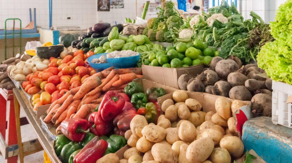 Las verduras también mostraron alza esta semana