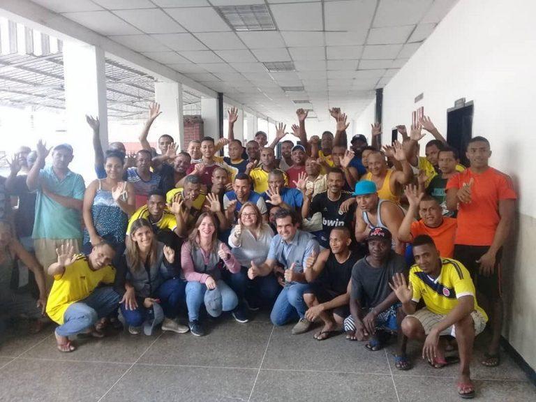 Alfredo Romero anunció la deportación de 59 presos políticos colombianos