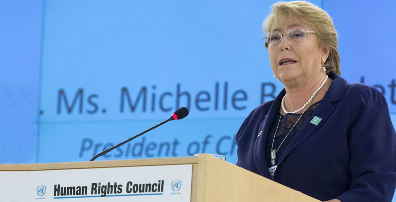 Bachelet: «Los venezolanos merecen una vida mejor»