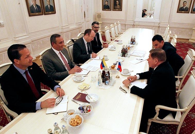 Magistrado Maikel Moreno, presidente del TSJ de Venezuela, se reunió  en Moscú con su homólogo de la Corte Suprema de Rusia