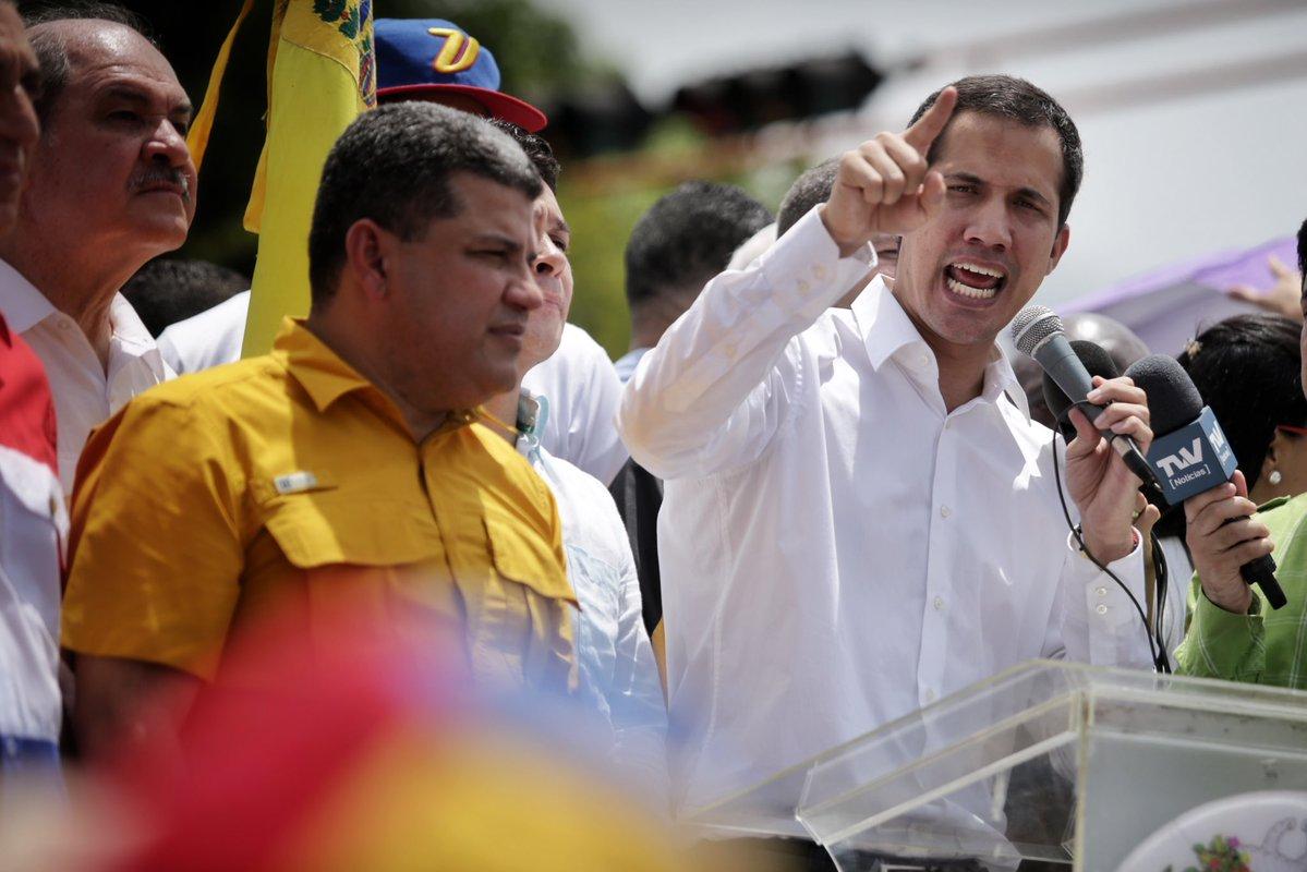Guaidó anunció que la AN aprobará el Tiar