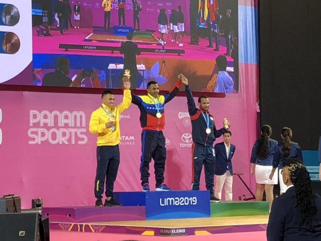 Julio Mayora impuso récord Panamericano y conquistó el segundo oro para Venezuela