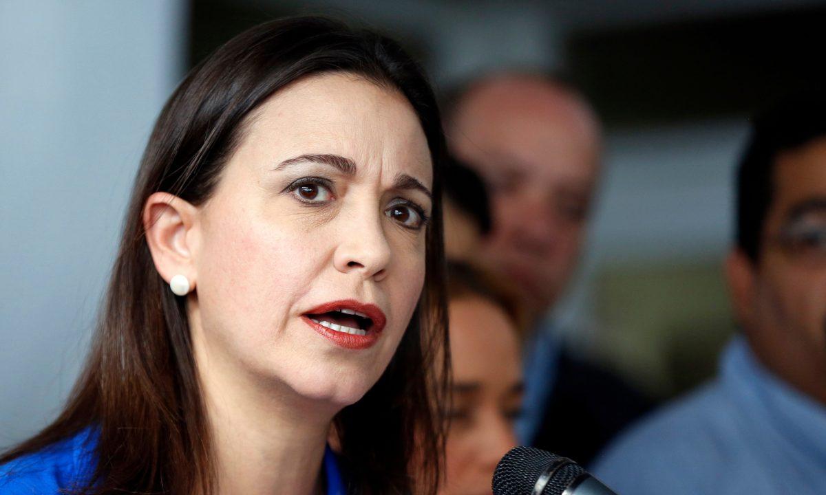 María Corina: Ni con Mandela, Gandhi y José Gregorio Hernández al frente del CNE sería una elección libre