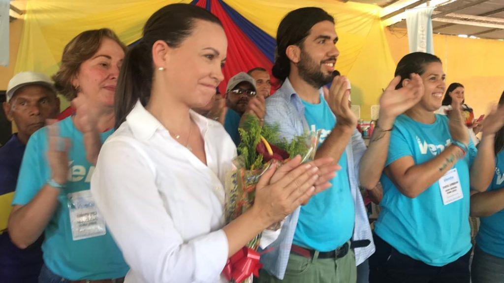 María Corina desde Guárico: Nuestra posición es firme en no aceptar ni cómplices, ni corruptos en la lucha por la libertad