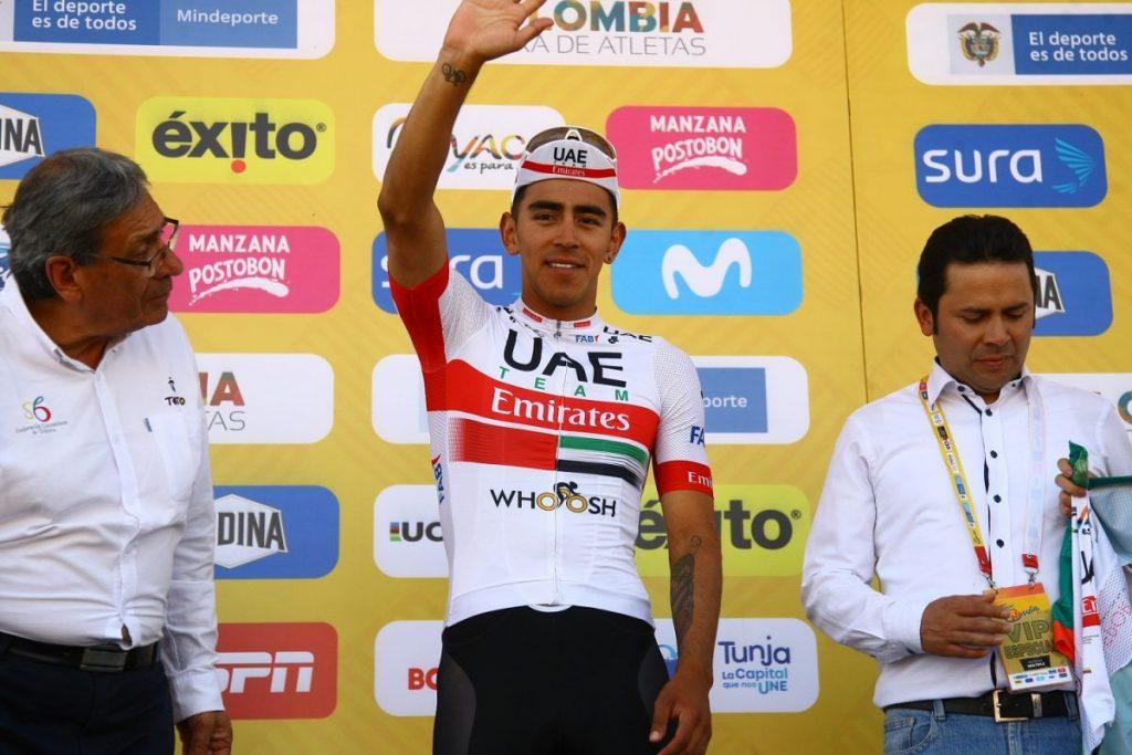 Molano reina en Boyacá y gana la 2da etapa del Tour Colombia