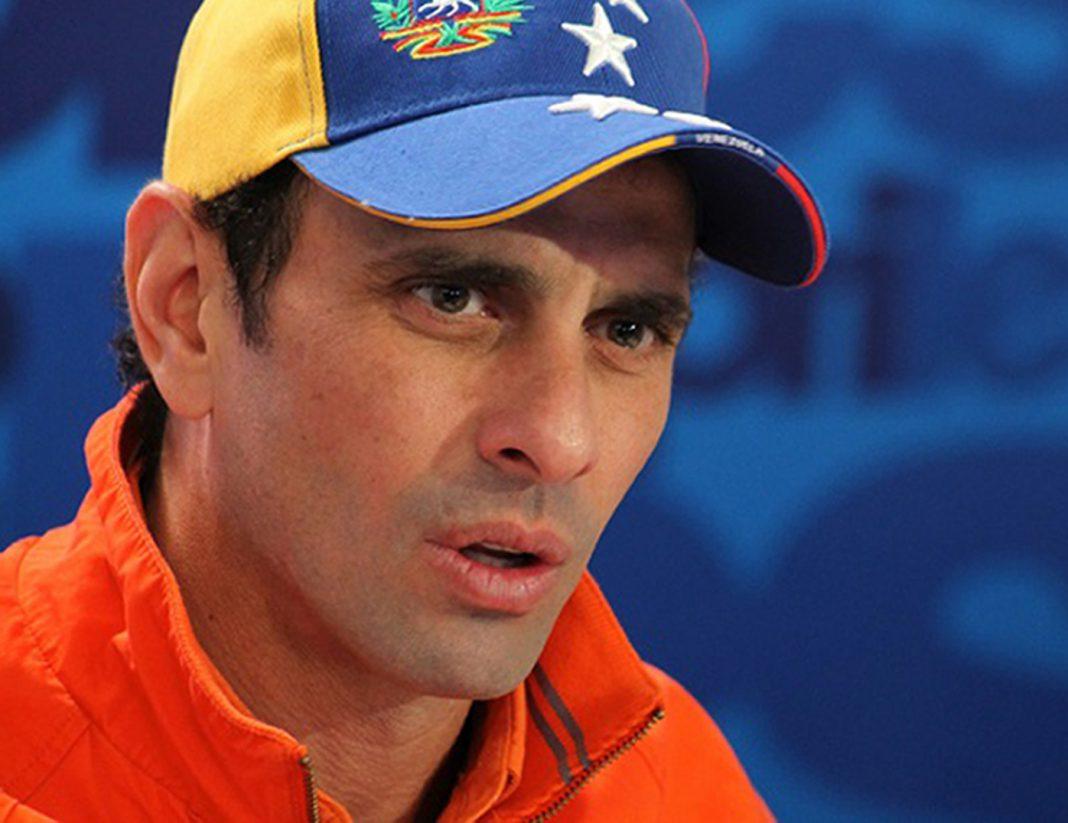 Henrique Capriles: La oposición hoy no tiene un líder
