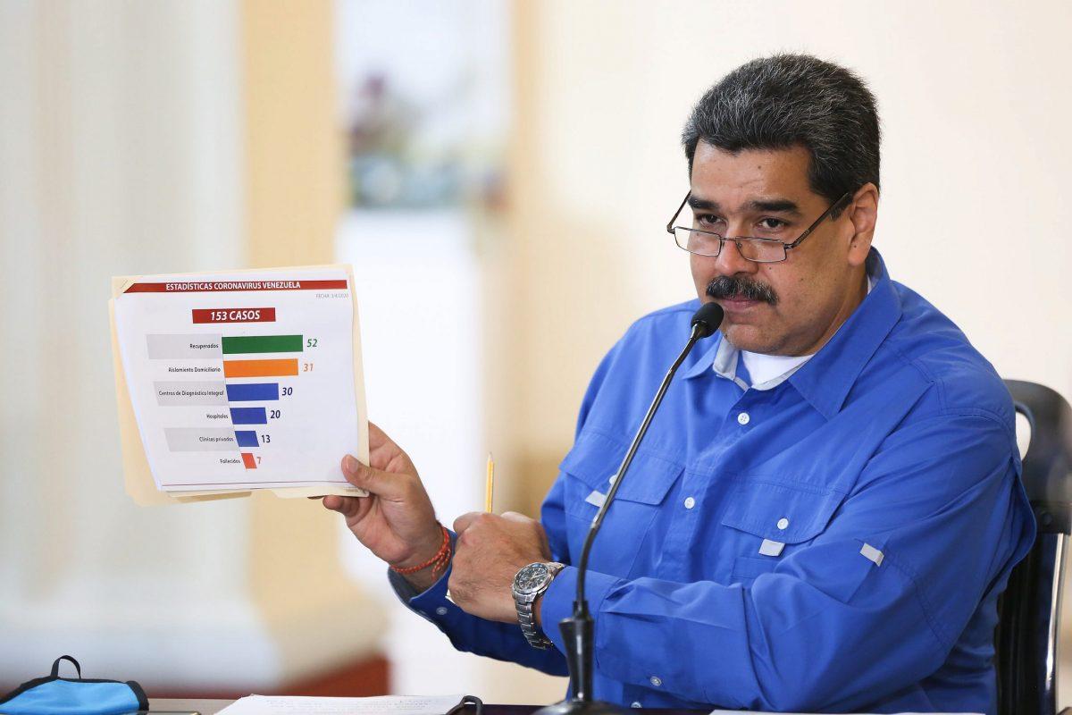 Maduro reportó 17 nuevos casos de COVID-19 en el país