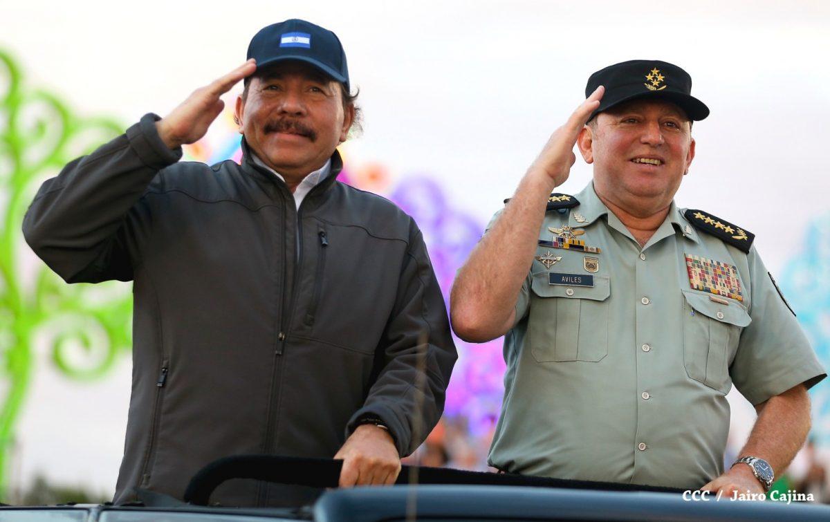 EEUU sanciona al jefe del Ejército y al ministro de Hacienda de Nicaragua