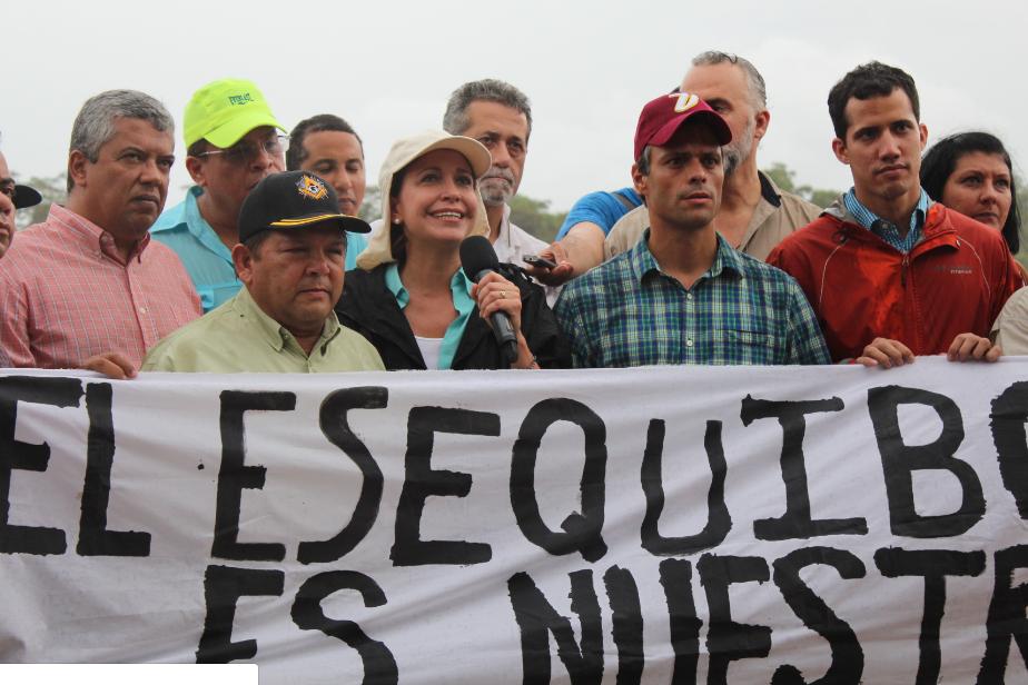 María Corina: El Esequibo es nuestro y cada venezolano está llamado a defenderlo