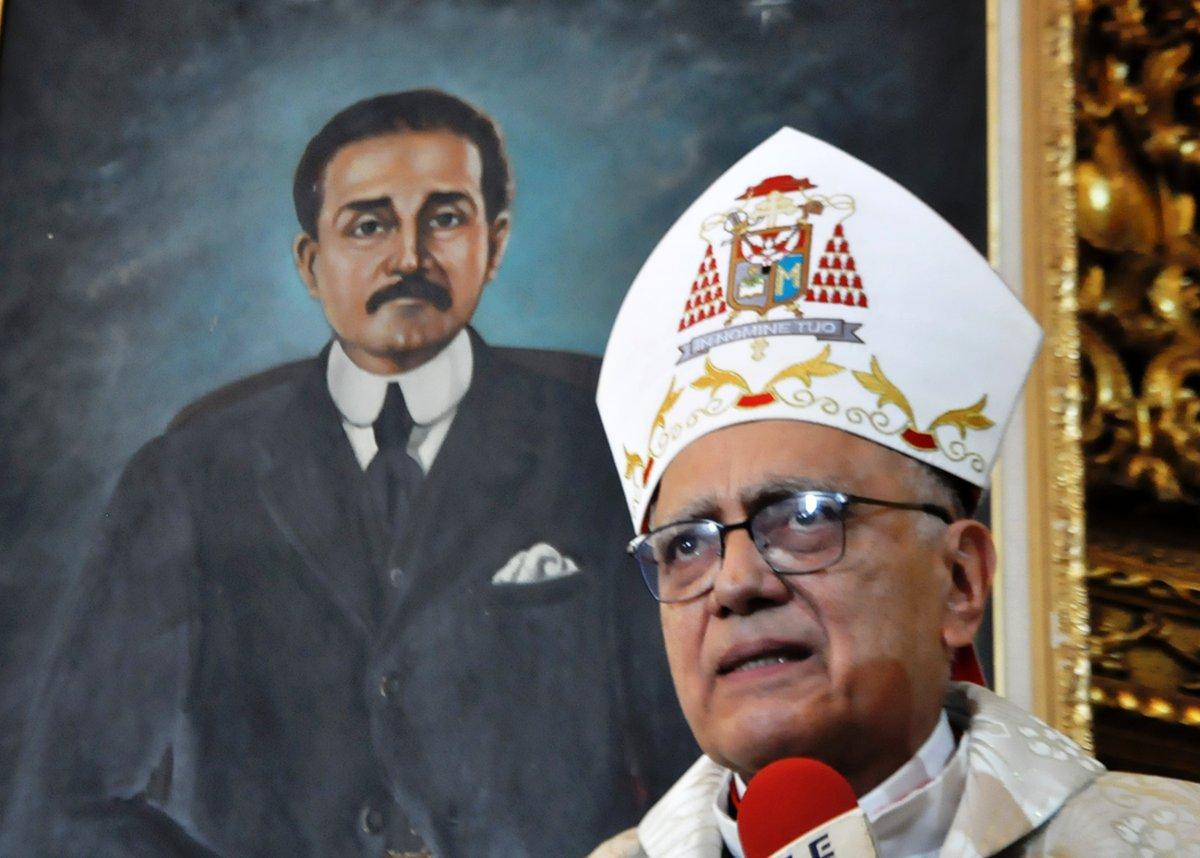 Cardenal Porras considera normal que el tema José Gregorio Hernández se politice