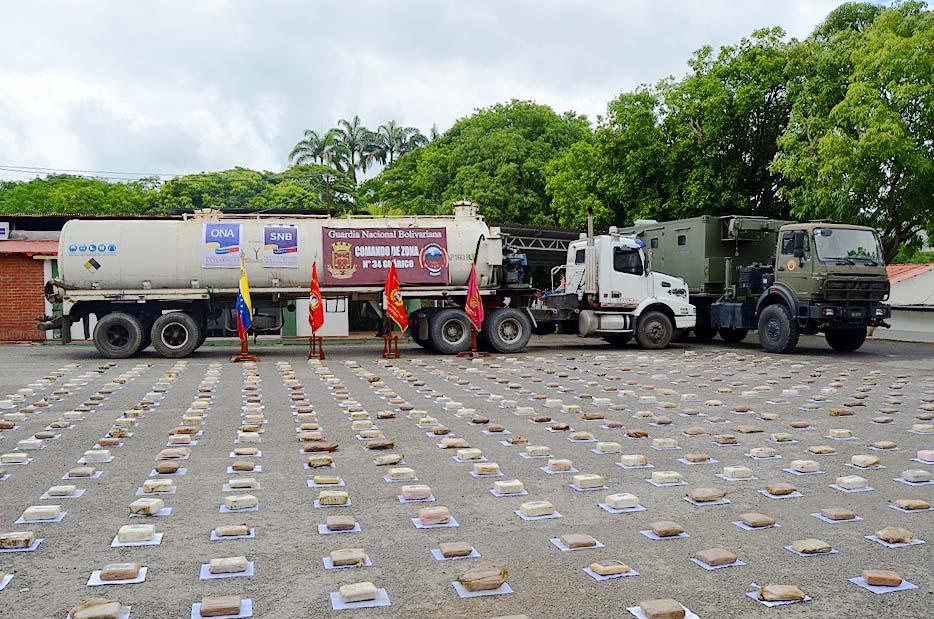 GNB ha incautado más de 1.300 kilogramos de droga en Guárico