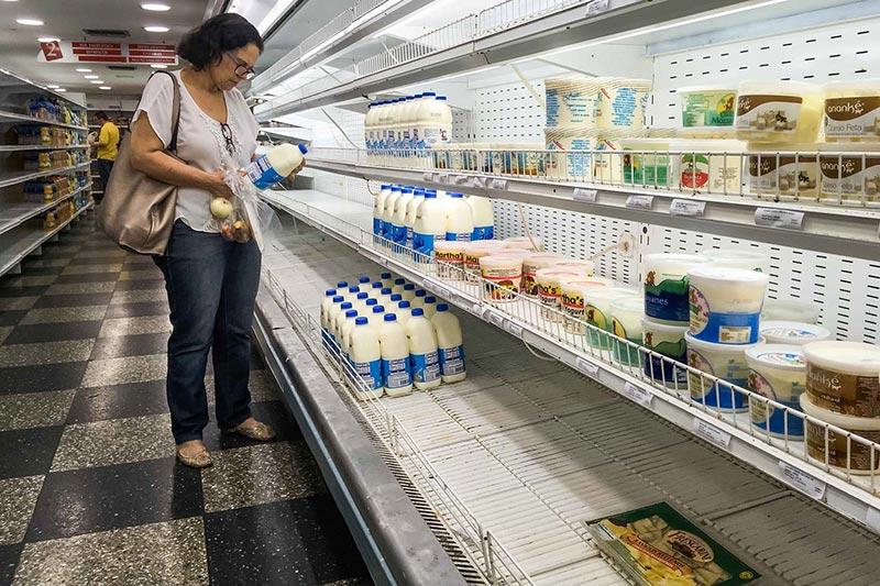 Sector lácteo en alerta por caída de la demanda en casi 65 %