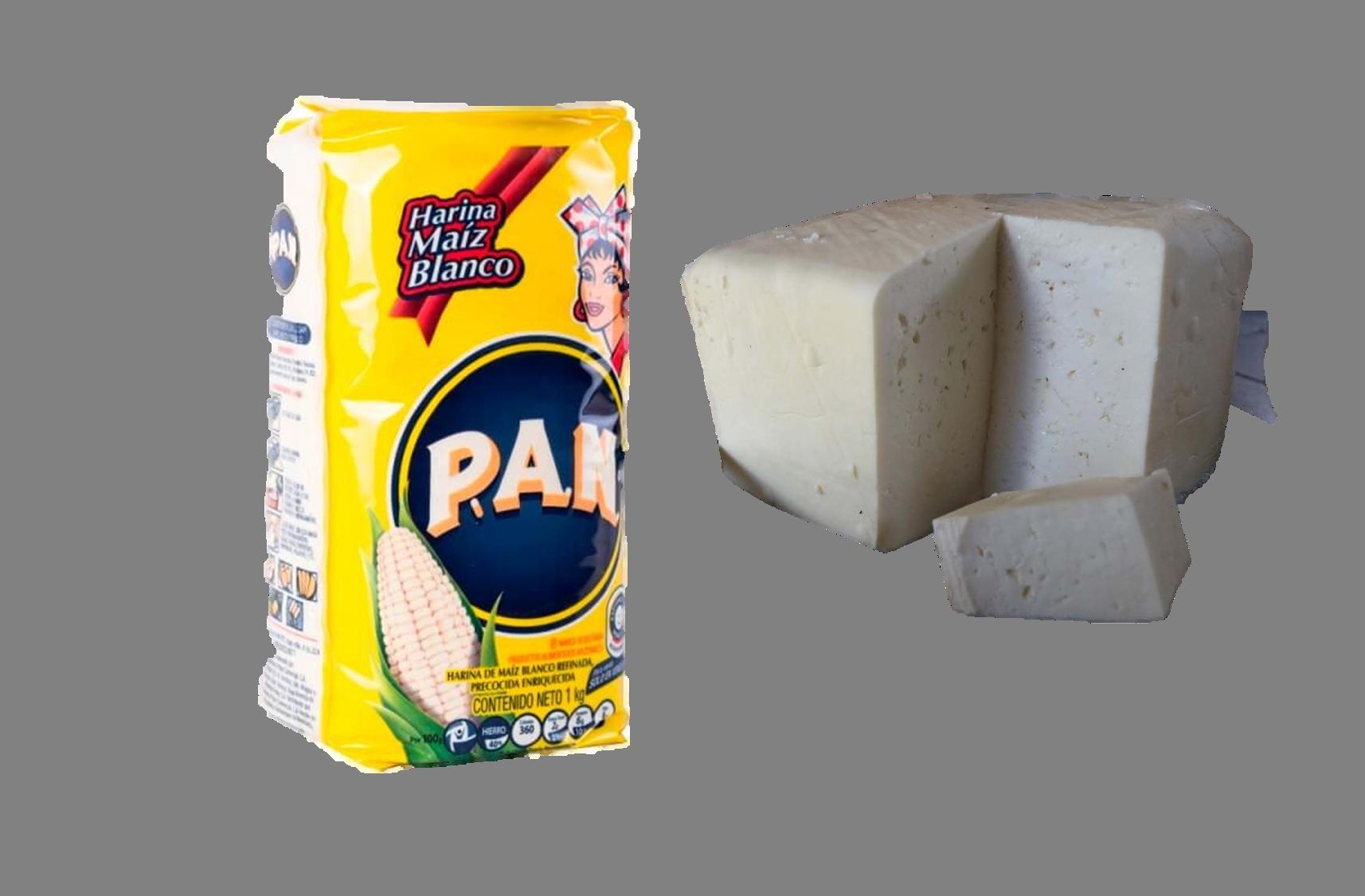 Pensión del IVSS a cobrar el 21 de julio solo alcanzará para comprar 1Kg de Harina Pan y 1/4 Kg de queso blanco