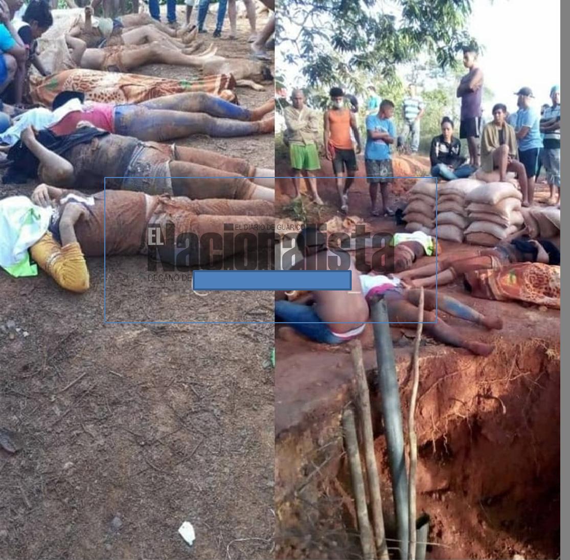derrumbe deja 7 fallecidos tapeados en Nacupay el Callao