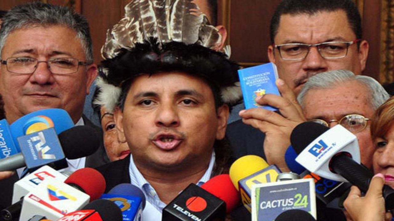 AN condena reglamento que elimina el voto indígena y promueve elección asamblearia de diputados