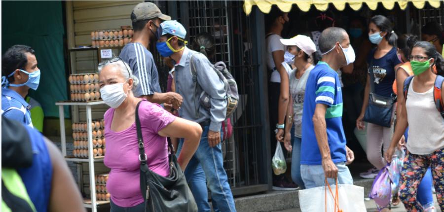 Venezuela registró 7 fallecidos y 569 contagios por COVID-19 este jueves