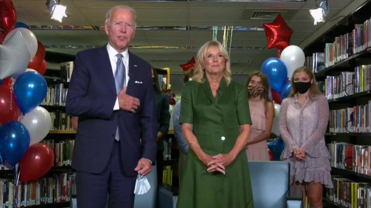 Demócratas confirman a Biden como candidato presidencial