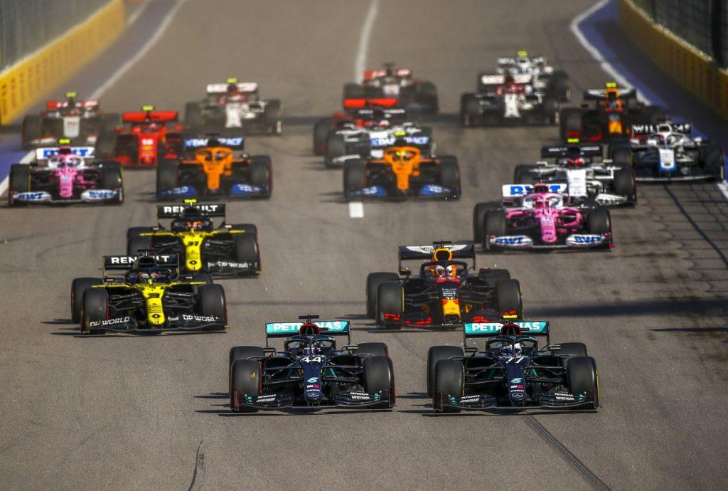Valtteri Bottas se impone el Gran Premio de Rusia