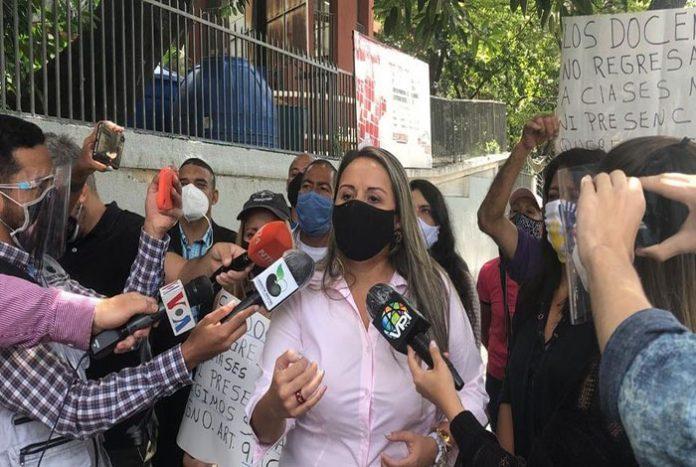 Gricelda Sánchez: Sólo 10% de los docentes se incorporaron al inicio del año escolar este 16 de septiembre