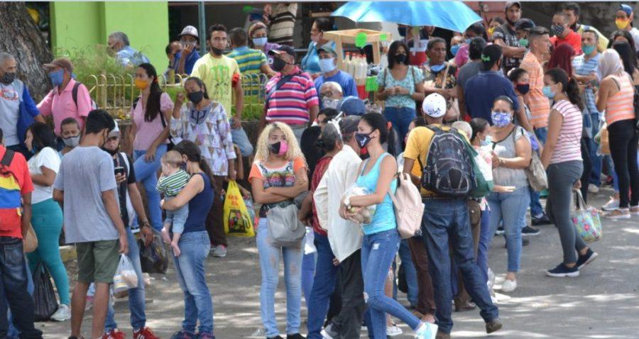 En las últimas 24 horas en venezuela se detectaron 574 nuevos contagios de Covid- 19