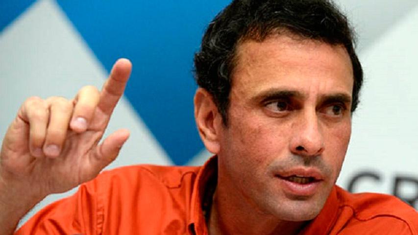 Capriles: Hablaremos con todo el que sea necesario