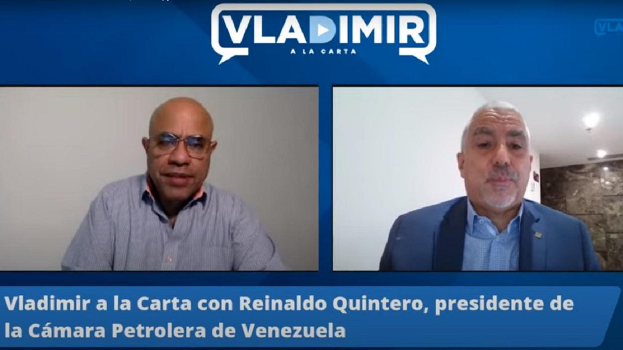 Reinaldo Quintero: Entre Cardón y El Palito se están produciendo entre 70 y 80 mil barriles diarios de gasolina