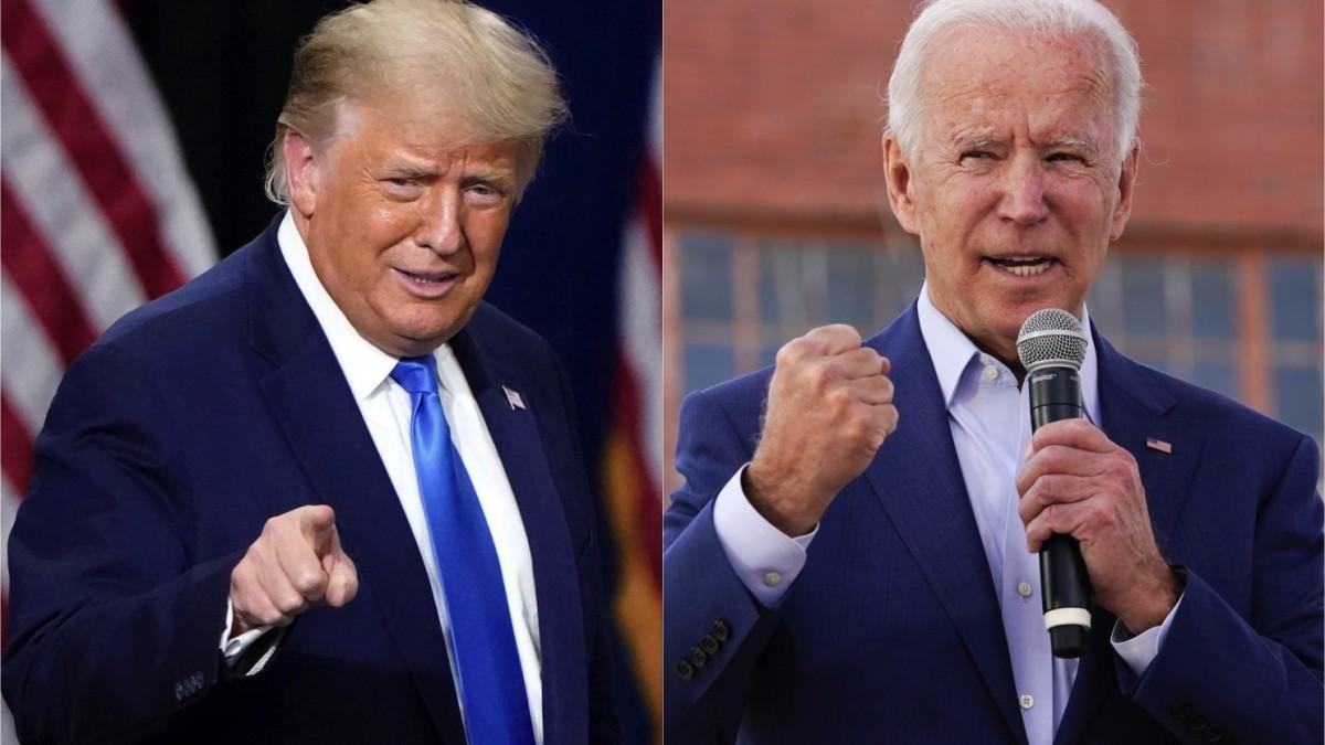 Biden publicó sus impuestos horas antes del primer debate con Trump