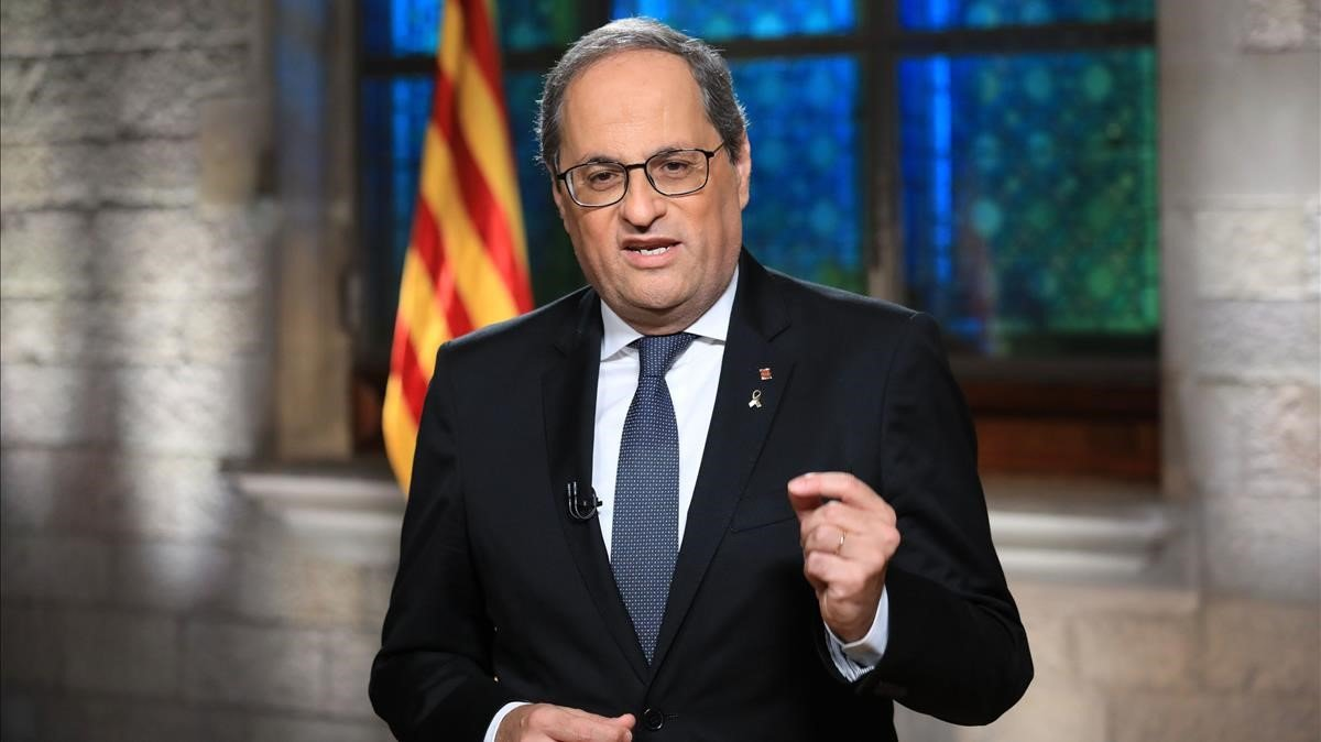 Tribunal Supremo español inhabilita al presidente de Cataluña