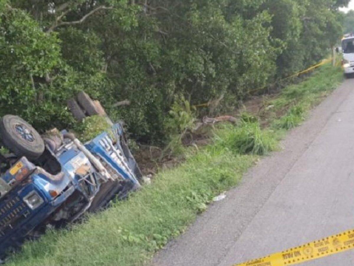 Fallecen cuatro venezolanos en accidente de tránsito en Colombia