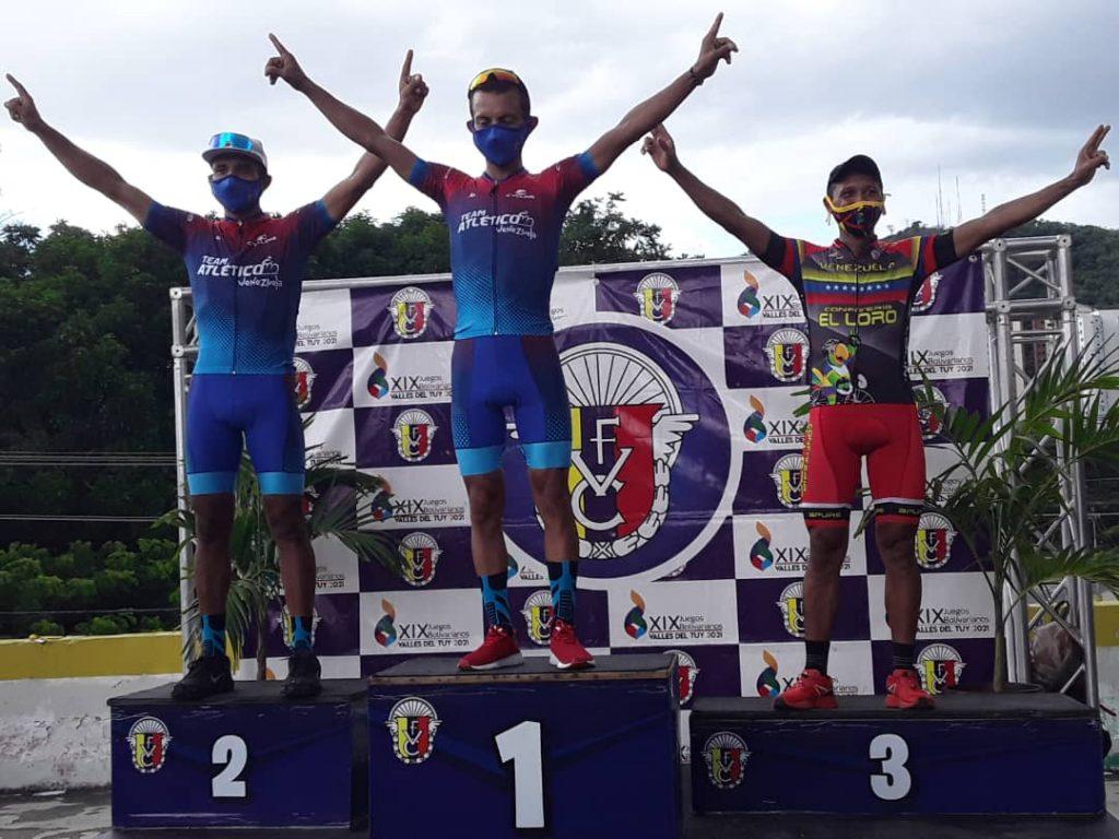 Máximo Rojas vencedor de la categoría Elite en el clásico Federación Venezolana de Ciclismo
