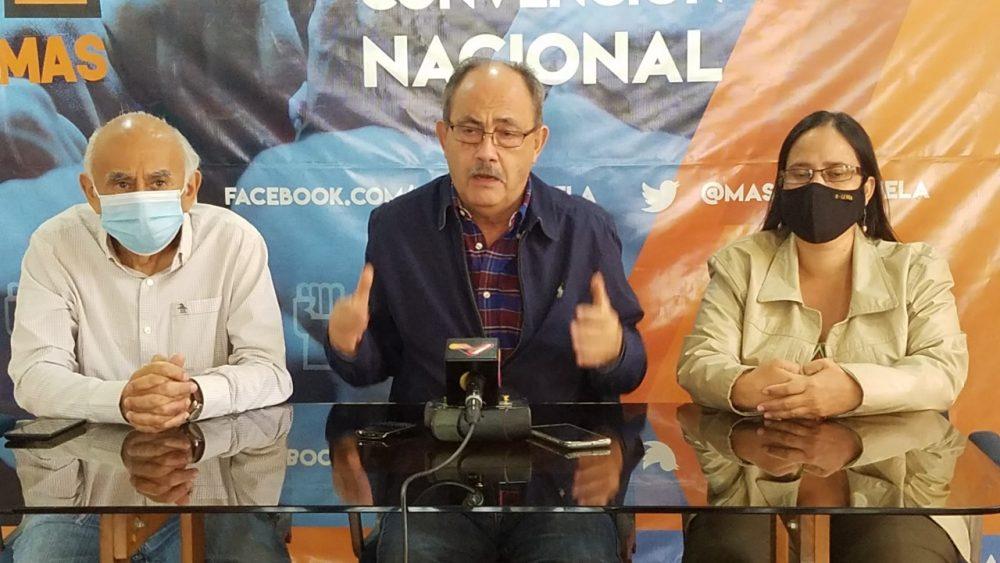 """MAS: Ley Anti bloqueo es un """"invento y un enredo"""" que desconoce a la sociedad venezolana"""