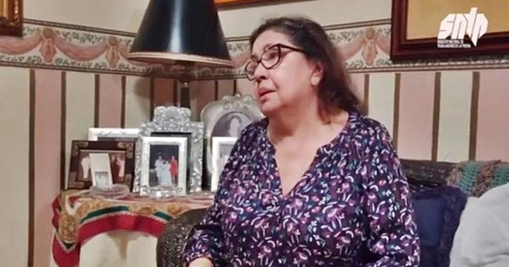 La madre de Roland Carreño le ruega al Alto Gobierno que le diga dónde está mi hijo