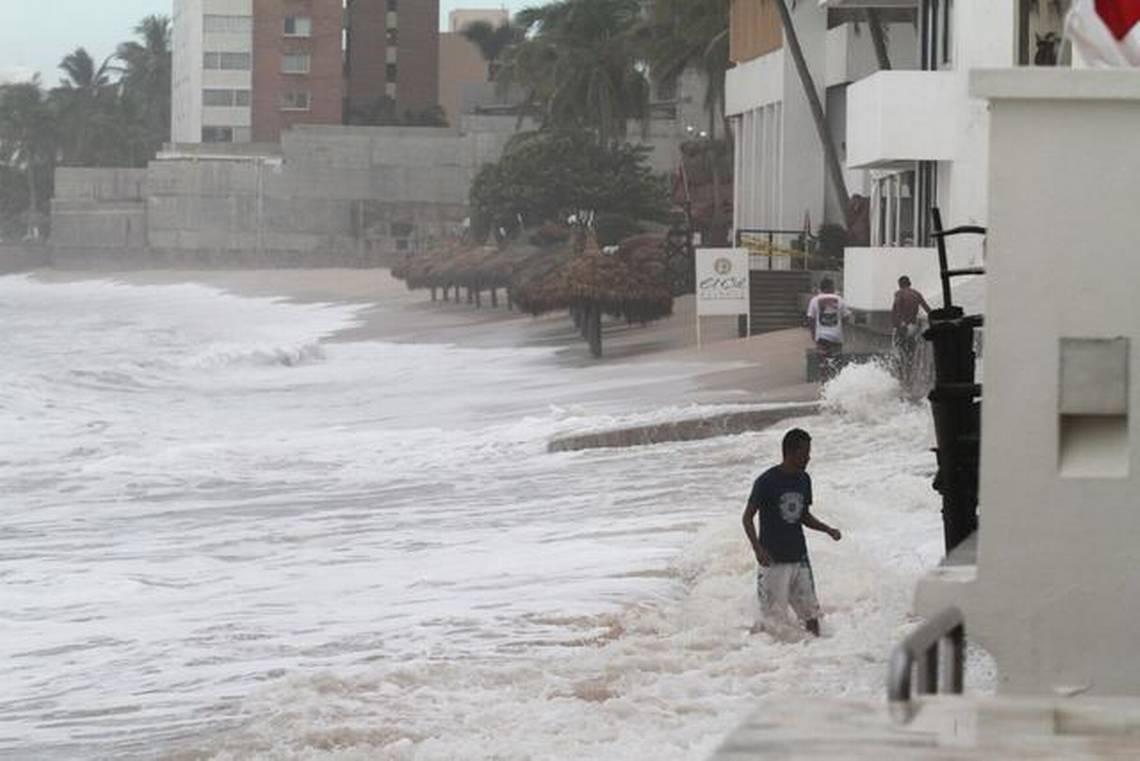 Norbert causa lluvias en México tras convertirse en tormenta