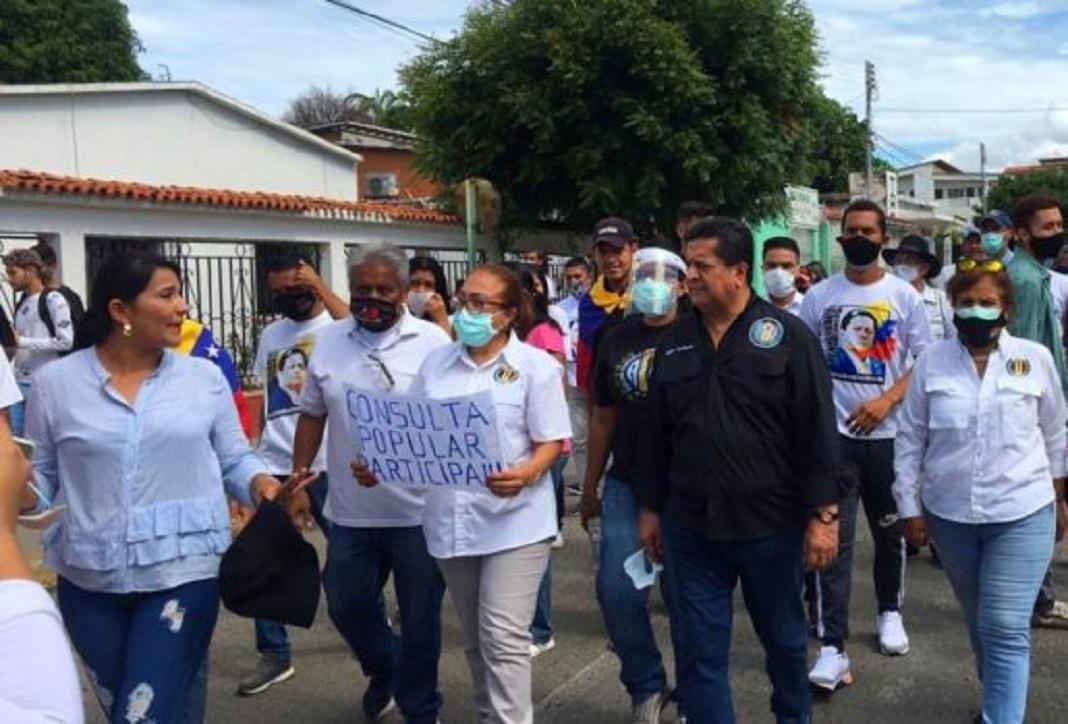 Diputados de la Asamblea Nacional buscan apoyo a la Consulta Popular en las regiones