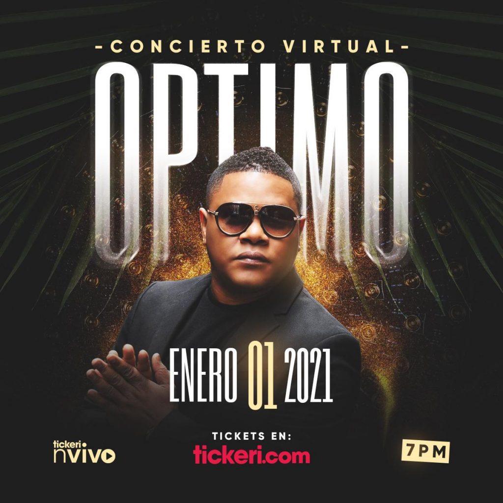 Óptimo abrirá el 2021 con un concierto virtual