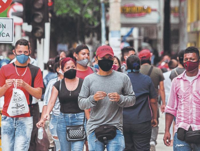 Colombia sumó más de 20 mil contagios en las últimas horas