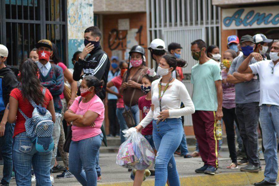 Venezuela registra la cifra más alta en casos de COVID-19 de las últimas semanas