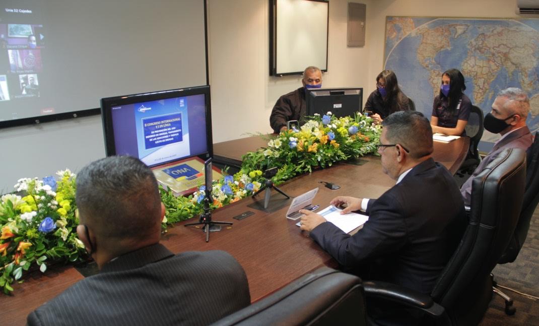 ONA instala el II Congreso Internacional y I en Línea de Prevención