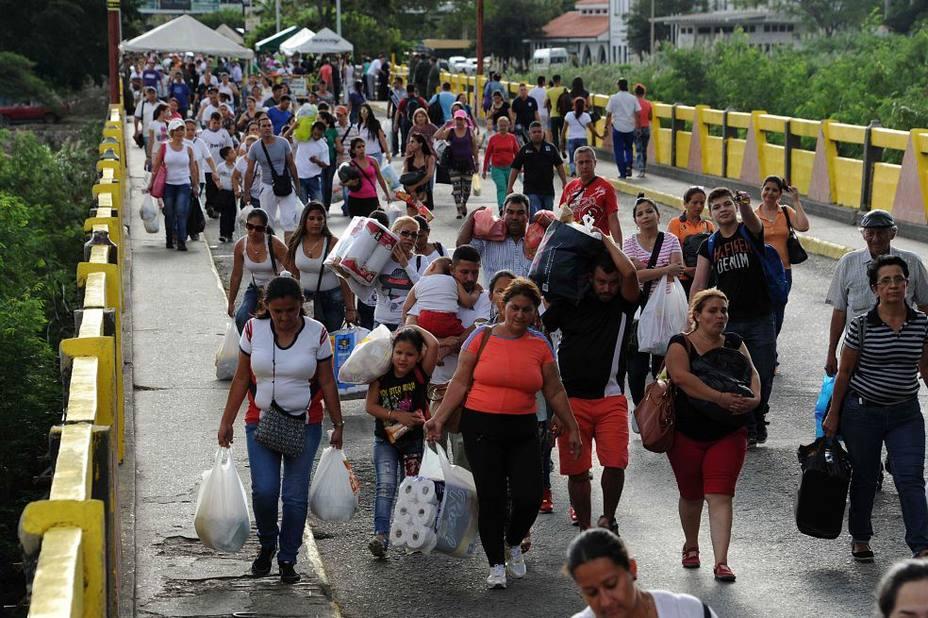 Acnur: Migración de venezolanos hacia Colombia será más grande este año