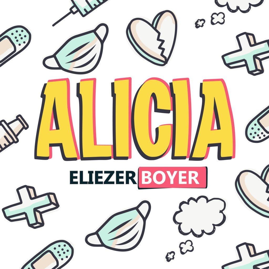"""Eliezer Boyer le canta a los amores platónicos en """"Alicia"""""""