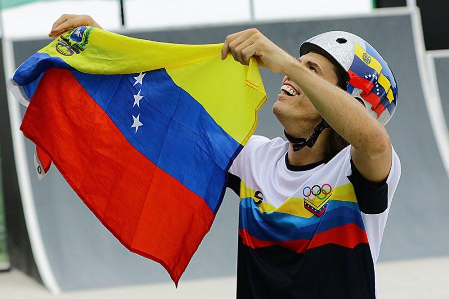 Daniel Dhers sale a sumar puntos al ranking UCI en Caracas