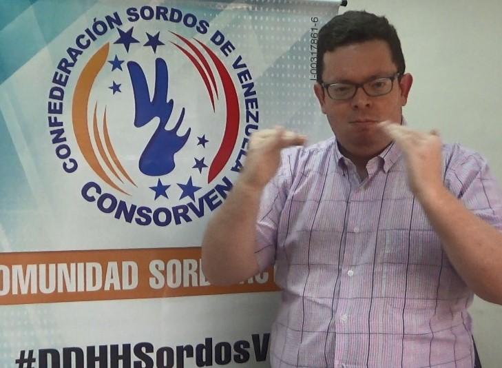 Consorven cumple 32 años en la promoción y defensa de los derechos delas personas Sordas en Venezuela