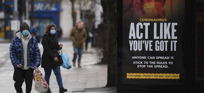Detectados 24 mil casos de variante británica del coronavirus en Europa