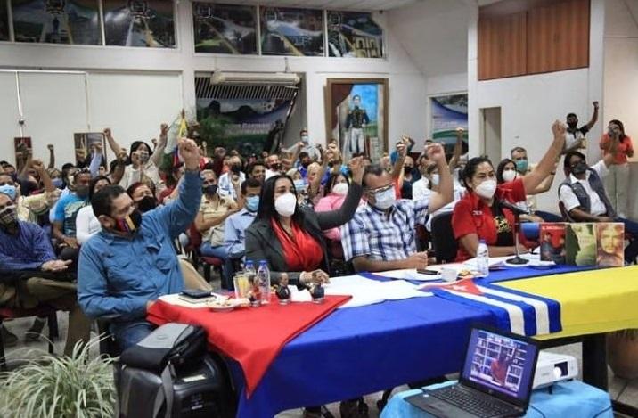 """Rector Berroterán participó en videoconferencia Chávez, """"El Gigante de Latinoamérica"""""""