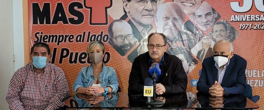 MAS llevará a la AN Proyecto de ley del salario en Venezuela
