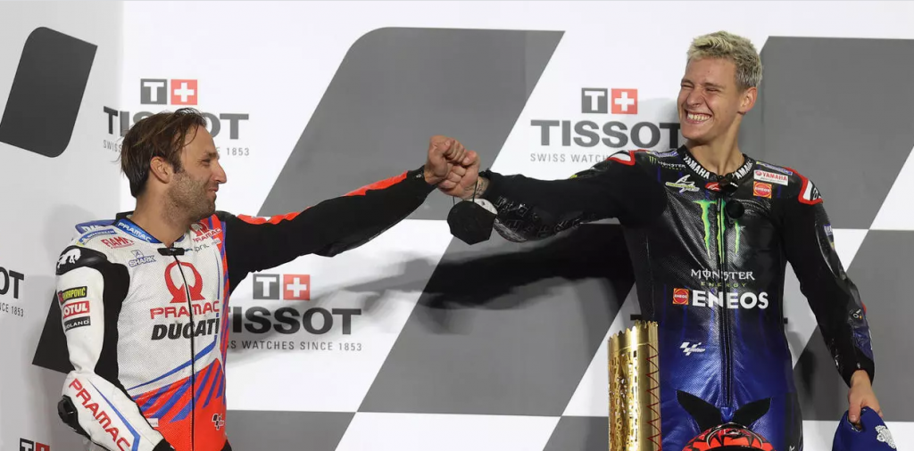 El francés Fabio Quartararo gana con Yamaha el GP de Doha de MotoGP