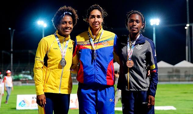 Nueva victoria de Luisarys Toledo en el heptatlón de Estados Unidos