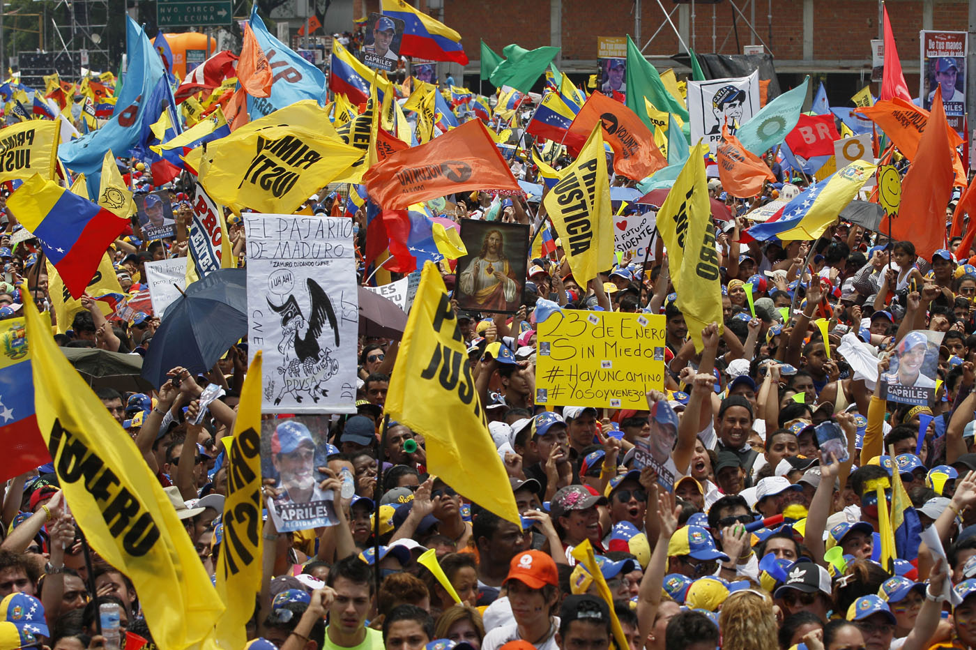 Partidos políticos acordaron construcción de una coalición más amplia para lograr elecciones libres y ayuda humanitaria